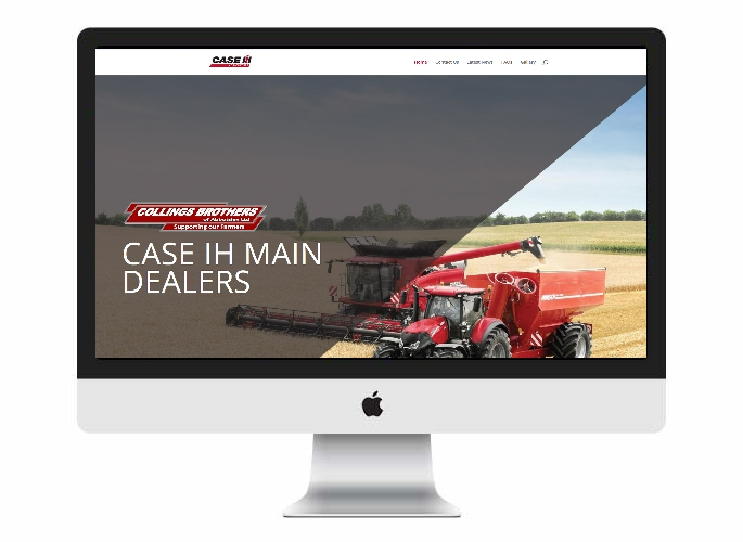ON24 Web Design Product Portfolio - Collings Brothers of Abbotsley